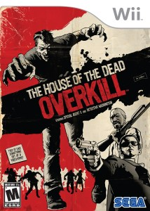 The House of the Dead: Overkill wii box art