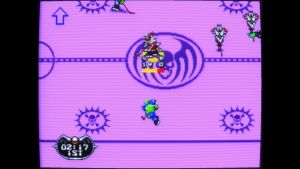 Mutant League Hockey mega drive screenshot