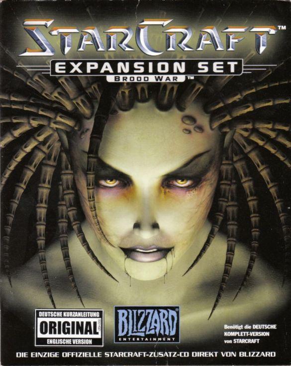 StarCraft Brood War cover art box art PC windows