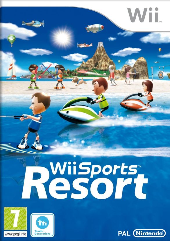 Wii Sports Resort box cover