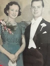 Grandma and Grandpa Lee