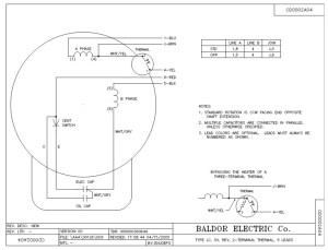 Baldor 3 Hp Motor Wiring Diagram  impremedia