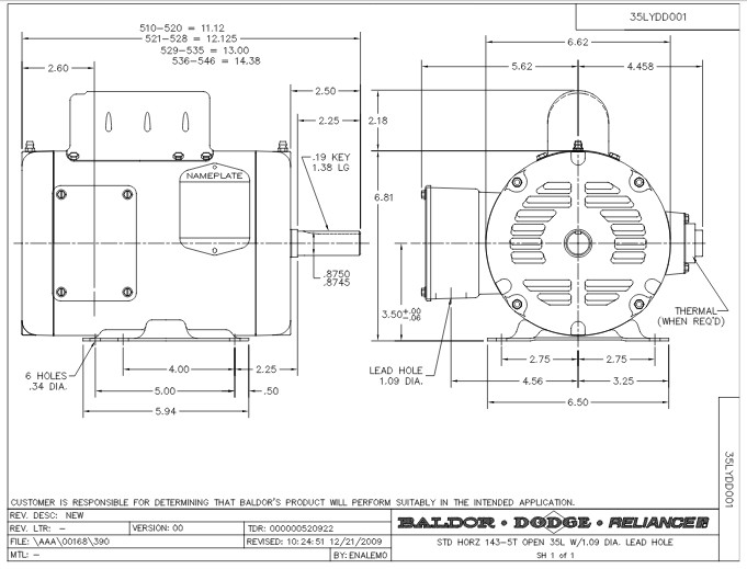 l1318t baldor single phase open foot mounted 1hp 1725rpm 143t frame upc 781568101315 2?resize\\\\\\\=665%2C507\\\\\\\&ssl\\\\\\\=1 wiring diagram 5 hp baldor motor 1725 rpm wiring diagrams Baldor 3 Phase Wiring Diagram at aneh.co