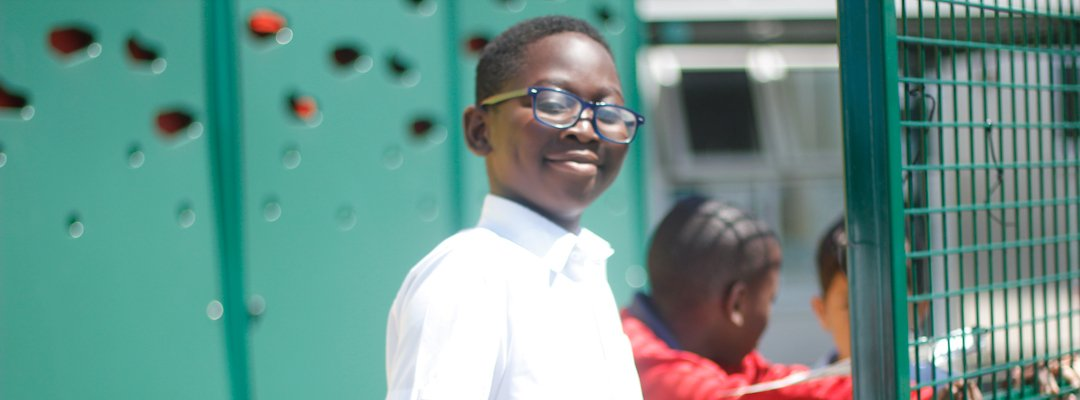 Proud boy at his school - Grinling Gibbons