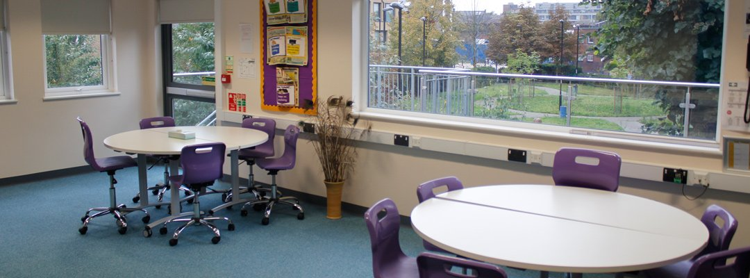 Refurbished classroom