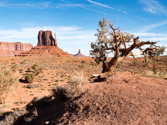 Monument Valley, between Arizona and Utah, Nov 2017