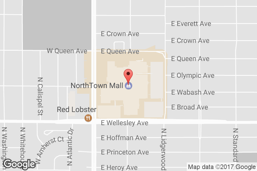 Northtown Mall Spokane Map