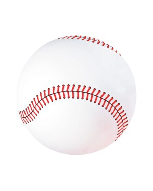 "Baseball Magnet or Sticker for Indoor or Outdoor Use 6.5"" x 6.5"""