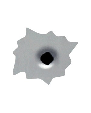 """Bullets Magnet or Sticker for Indoor or Outdoor Use 2"""" x 2"""" Qty 6"""