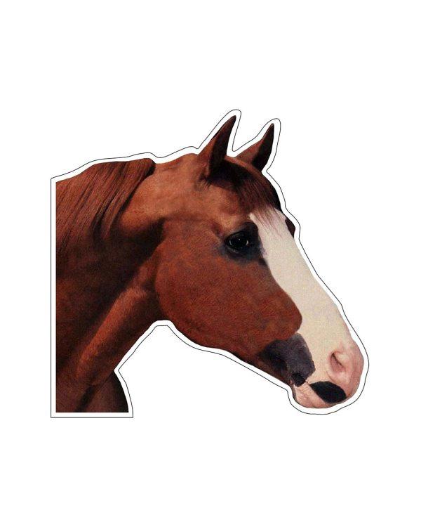 Brown Horse Head Magnet