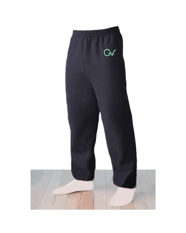 Good Vibes Logo Black Sweatpants