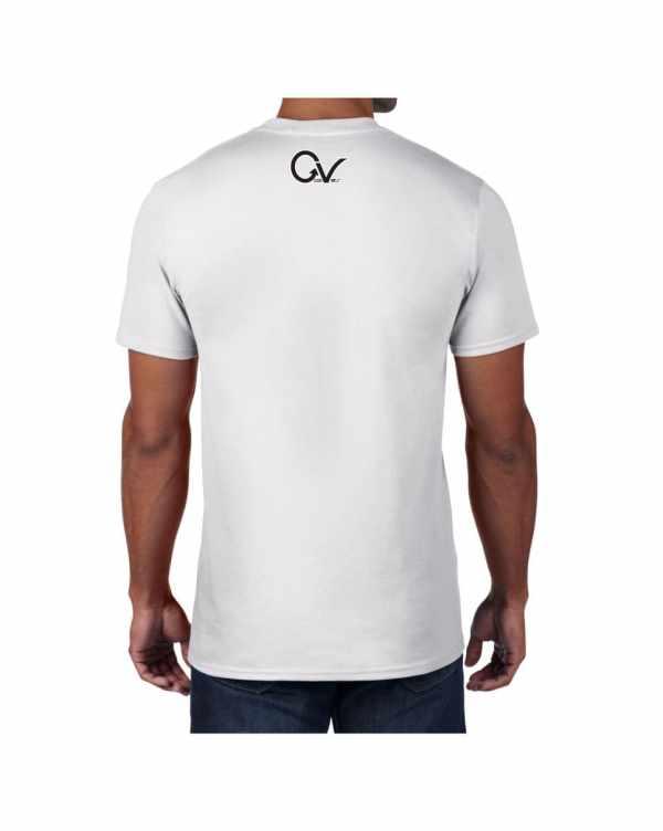 Good Vibes Black Gorilla White T-shirt