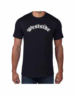 Good Vibes Westside Black T-shirt