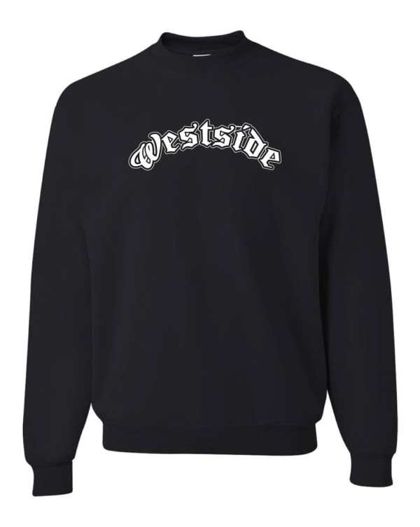 Good Vibes Westside Black Sweatshirt