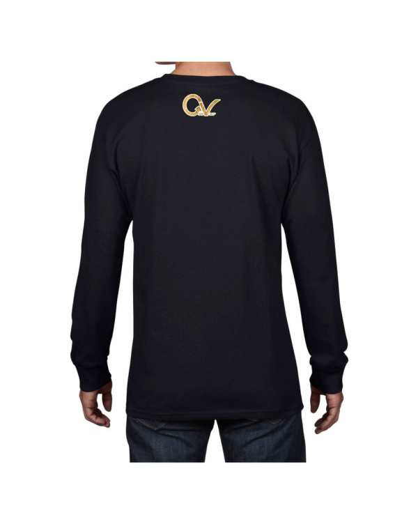 Good Vibes Lion Claw Black Long Sleeve T-shirt