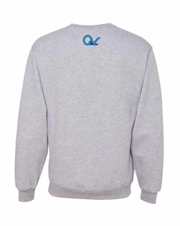 Good Vibes Purple GV Gray Sweatshirt
