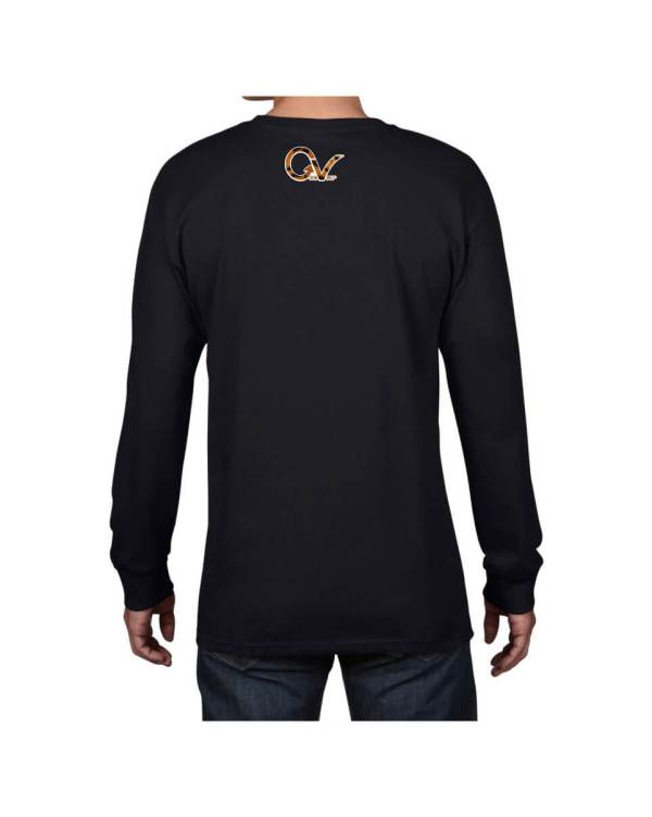 Good Vibes Tiger Claw Black Long Sleeve T-shirt