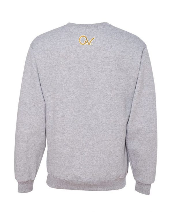 Good Vibes Lion Claw Gray Sweatshirt