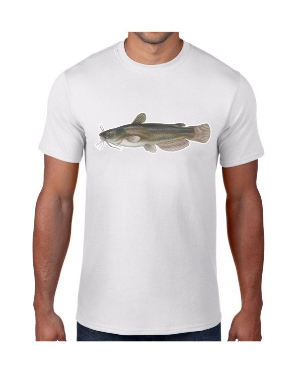 Bullhead Catfish T-shirt 5.6 oz., 50/50 Heavyweight Blend