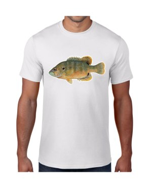 Green Sunfish T-shirt 5.6 oz., 50/50 Heavyweight Blend