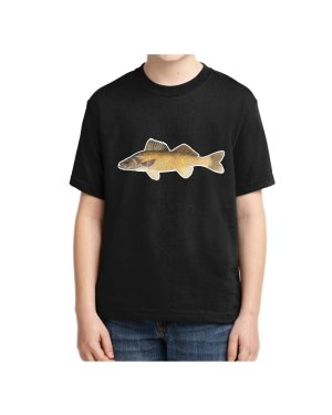 Kids Walleye T-shirt 5.6 oz., 50/50 Heavyweight Blend