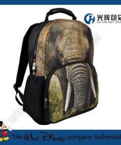 3D elephant Animal Backpack College School Backpack bags