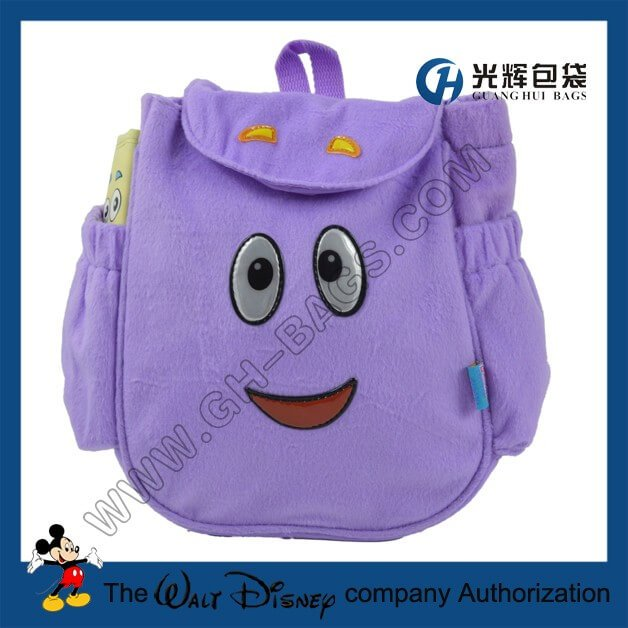 Dora pre backpack bags with map Dora Backpack And Map on