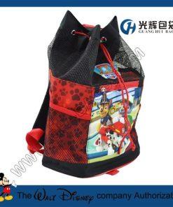 PVC mesh drawstring backpacks