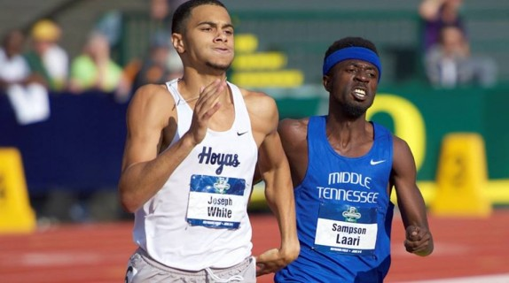 Ghana's Agnes Abu (800m) and Sampson Laari (1 Mile) have qualified for the 2017 NCAA D1 Indoor Championships in the USA.