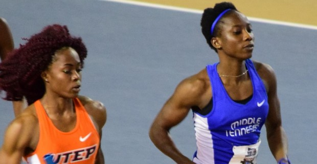Ghanaian athletes in the USA put on an array of solid INDOOR performances for their various universities and national team rankings this past weekend.