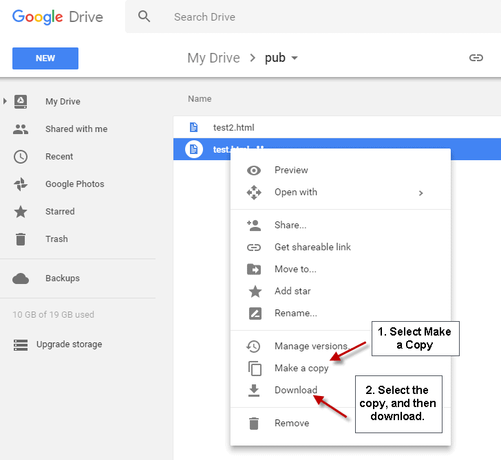 Google Drive bypass download limiet