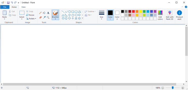 It looks as if Microsoft Paint is not going anywhere anytime soon ...