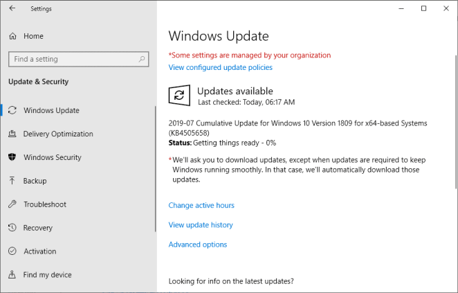 Update KB4505658 for Windows 10 version 1809 is out - Angle News