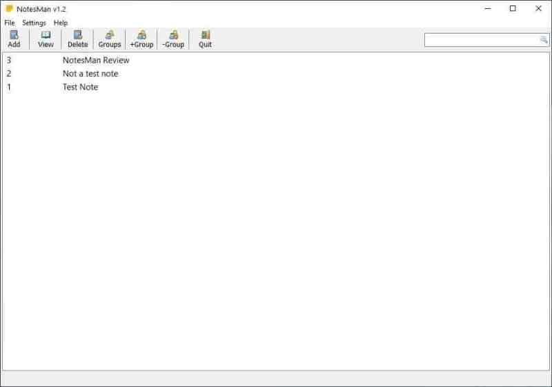 NotesMan è un programma per prendere appunti semplice e open source che supporta il salvataggio automatico