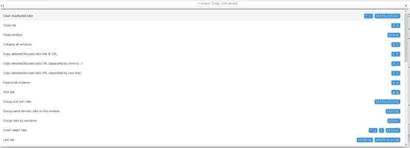 Estensione Tab Manager V2 per Firefox e Chrome