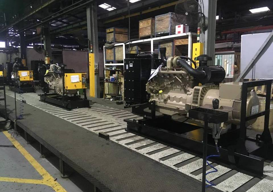 "John Deere ""0 Hour Quality"" check on Ghaddar Machinery's Production Lines."