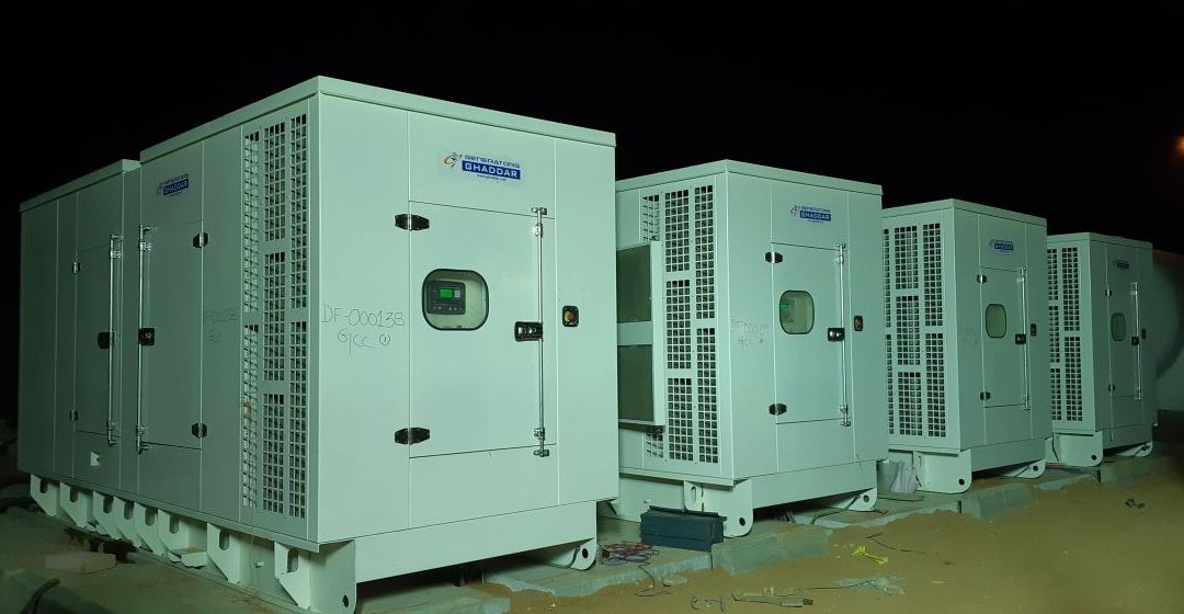 Ghaddar Machinery Co. Saudi Arabia is Powering Aramco workers camp in Riyadh