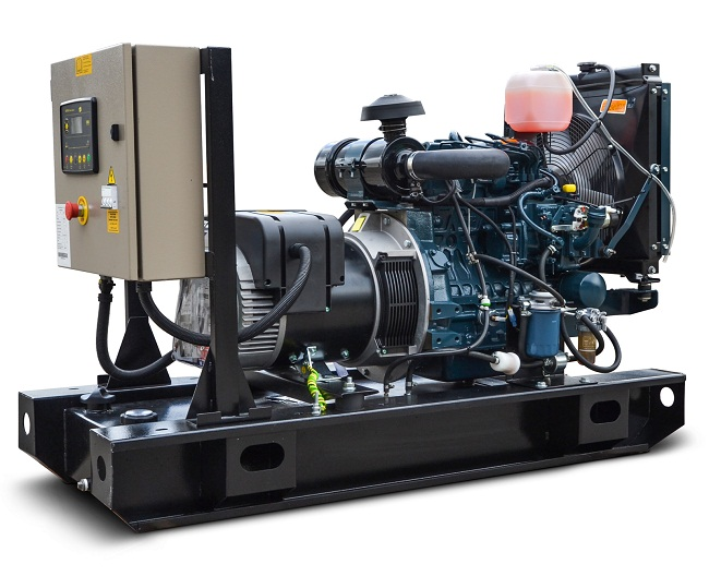 Ghaddar Generator KT12.5 – KT14S (1500 rpm) powered by Kubota Image