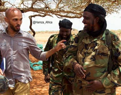 """Kenya said it killed these Al Shabaab leaders. I met them on my last trip to Somalia,"" Al Jazeera reporter poses with terrorists as he mocks Uhuru's government"