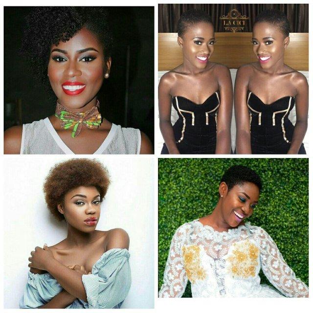 natural hair vrs short hair - ghafla! ghana