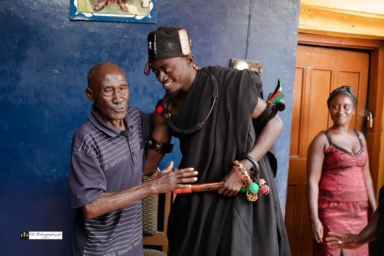 Photos From Kwadwo Nkansah Lil Win's Enstoolment As Nkosuohene |  GhanaShowBiz.com™