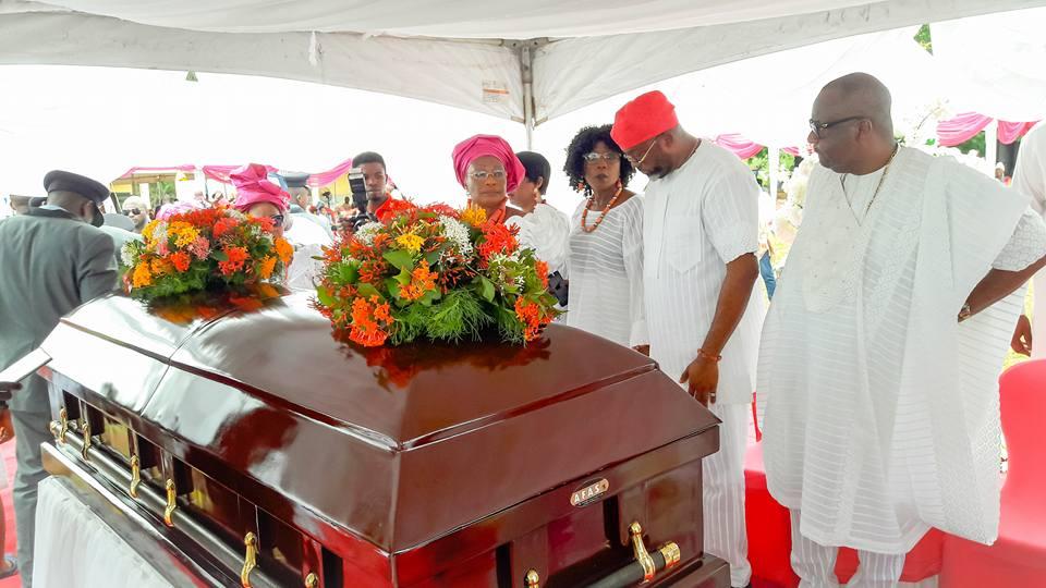 Anselm Maubuko's mum laid to rest