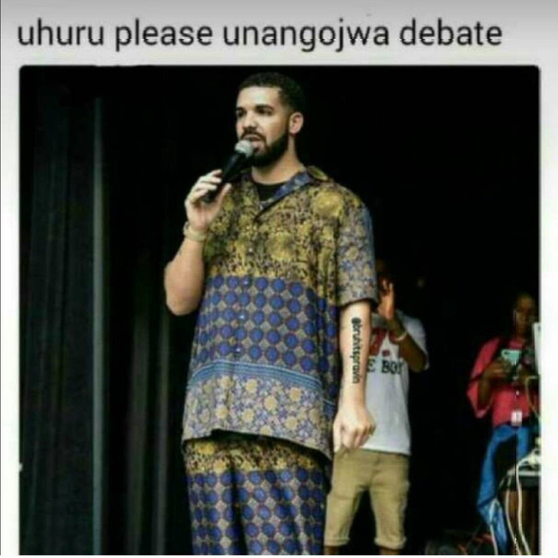 IMG_6641 The memes from President Uhuru snubbing the debate are hilarious!