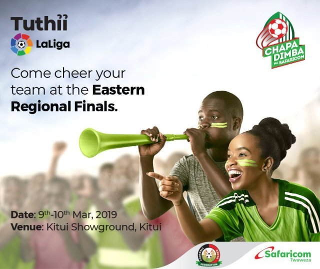 Chapa Dimba Na Safaricom, La Liga Coaches Will Be Looking For Talent In Kitui This Weekend At Chapa Dimba Na Safaricom Regional Finals