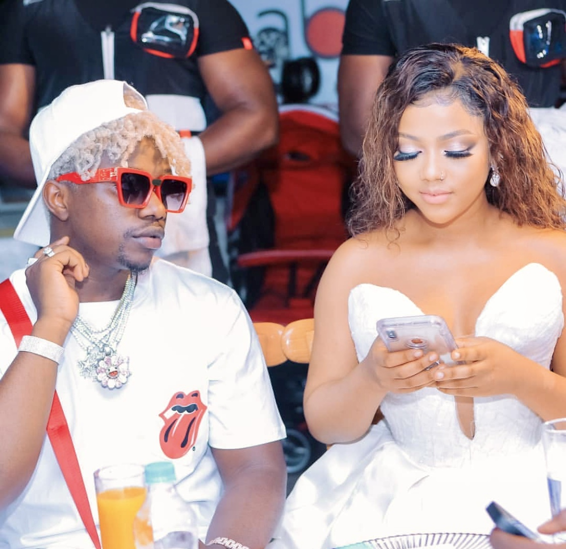 Drama! Rayvanny accused of cheating on his baby mama with Elizabeth Micheal