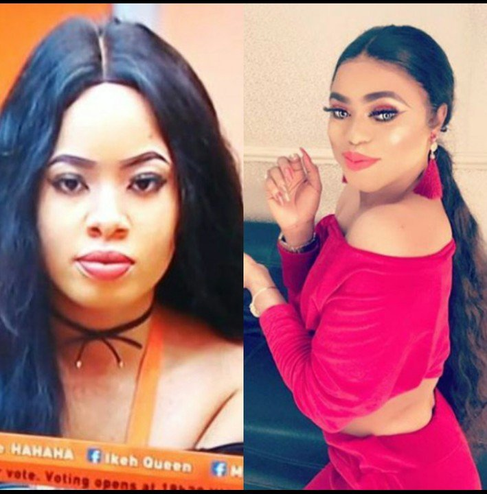 Image result for bobrisky and Nina  AWWN! Tears Of Joy Flow As Bobrisky Reunites With Nina [Photos] Nina Bobrisky