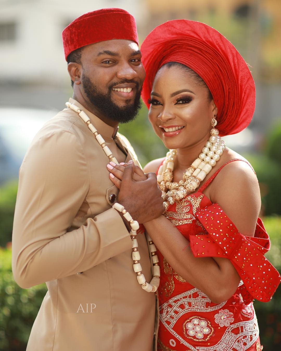 Image result for Linda Ejiofor and Ibrahim Suleiman at their court wedding(photo)
