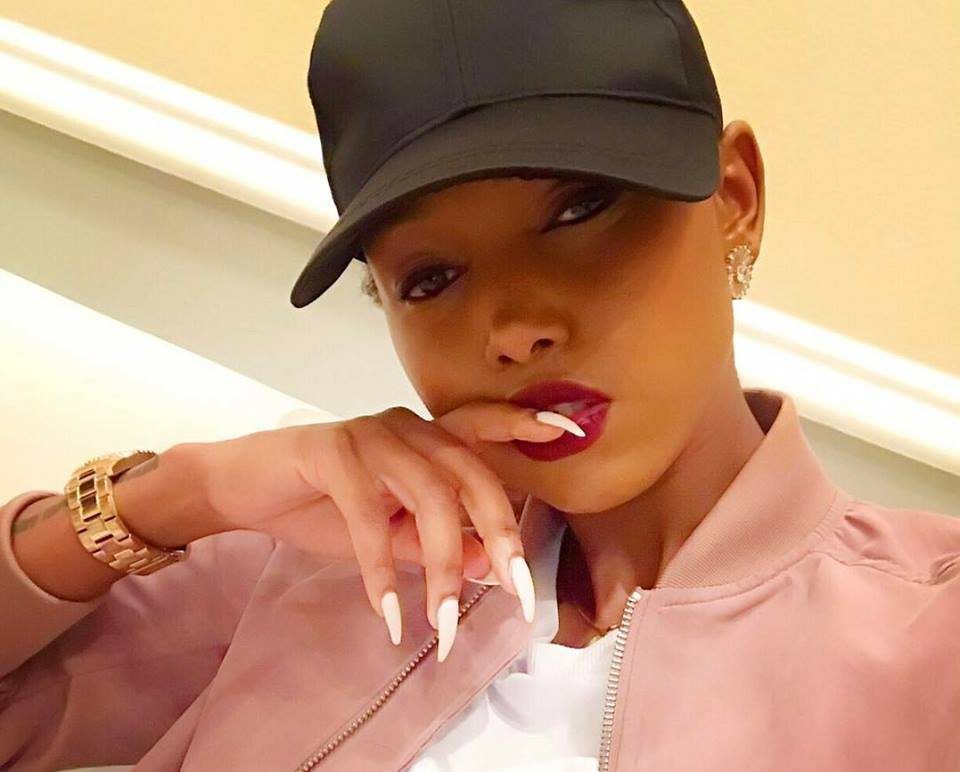 Jeez this girl has no manners at all! Huddah Monroe talks about her private part in the most disturbing way ever