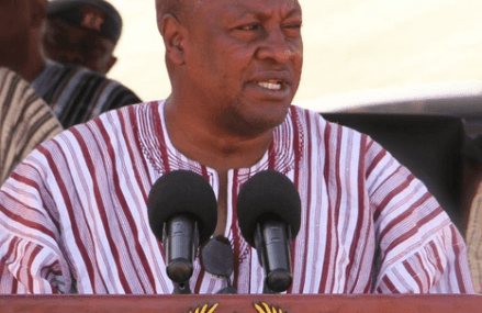 President Mahama pledges to focus on HIV and AIDS reduction