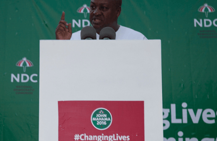 Money will be in your pockets in my second term – Mahama